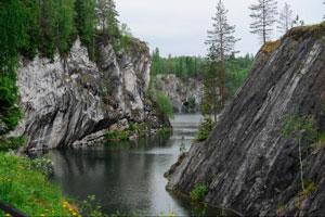 Горный парк «Рускеала» Мраморный карьер