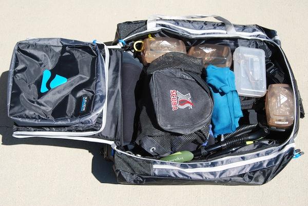 Обзор сумок на колесиках для дайвинг снаряжения.