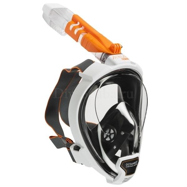 Маска полнолицевая Ocean Reef Aria QR+ белый M/L