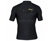 Гидромайка лайкровая iQ Watersport мужская с коротким рукавом ,UV300+