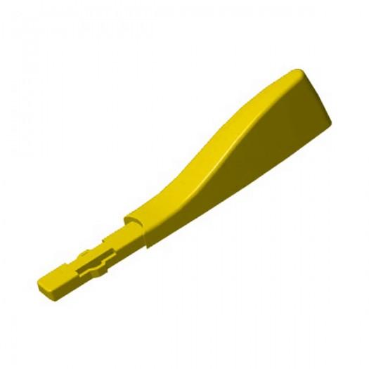 Плавник- маркер идентификационный для маски Aria желтый
