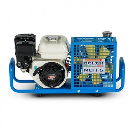 Компрессор COLTRI MCH-6-SH, бензиновый Honda, 100л/мин, цв. синий