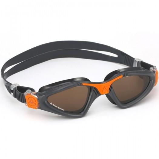 Очки для плавания Aqua Sphere Kayenne gray/orange