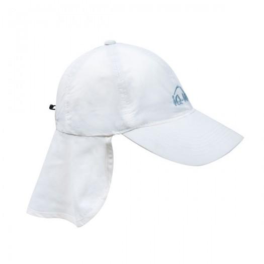 Кепка с защитой для шеи iQ-UV 200+, белый