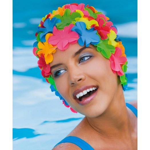 Шапочка для плавания FASHY Petal Cap Flowers