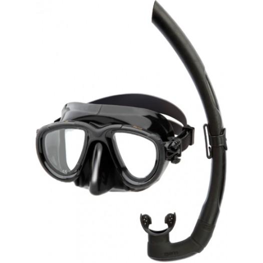 Набор маска + трубка MARES TANA для подводной охоты