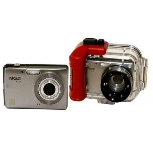 Подводный фотоаппарат  INTOVA  IC12 в боксе