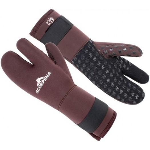Перчатки трехпалые SCORPENA D 8мм