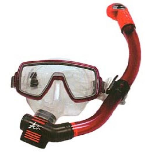 Комплект маска Ventura midi + трубка Heliox MIDI P/V