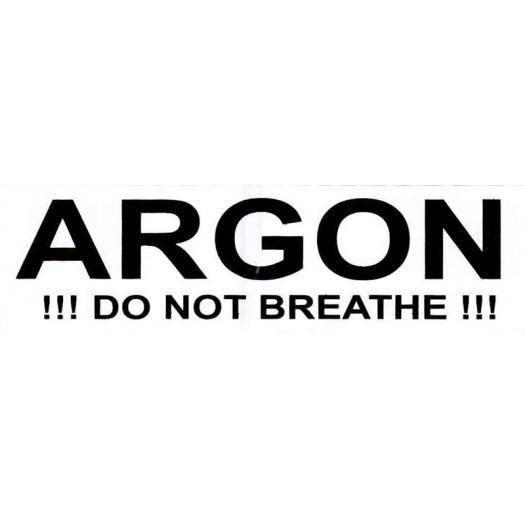Наклейка Argon