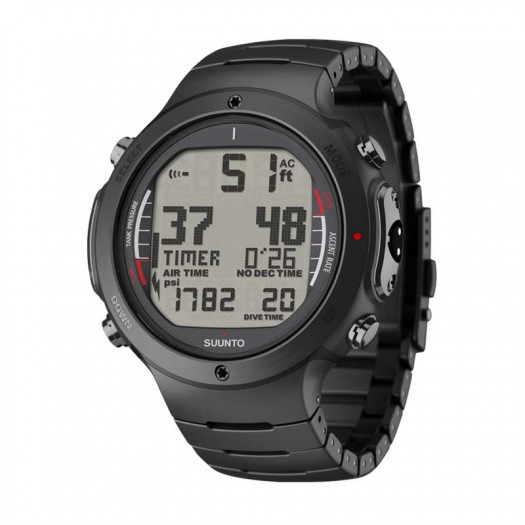 Suunto D6i Black Steel дайвинг компьютер