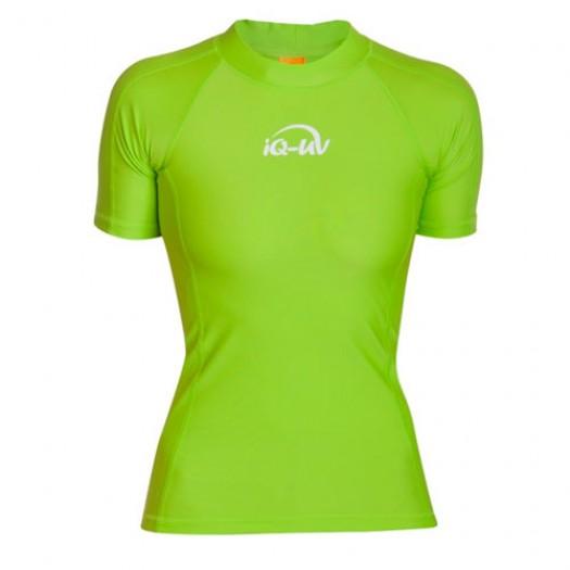 Гидромайка лайкровая iQ, женская, неоновый зеленый UV300+