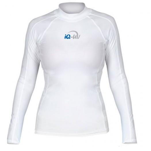 Гидромайка лайкровая iQ, женская, белая UV300+