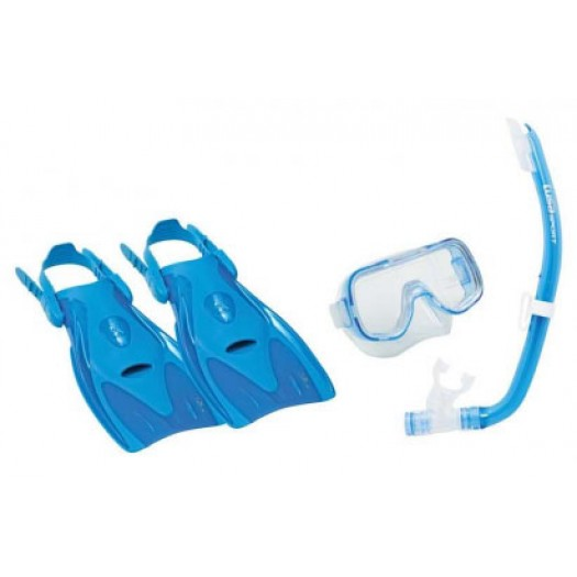 Детский комплект TUSA Mini Kleio (маска, трубка, ласты)