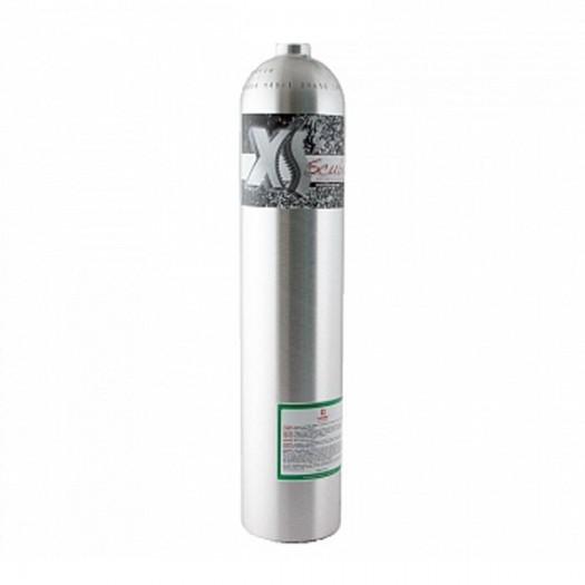 Баллон XS Scuba 6л, алюминий, полированный метал Без Вентиля