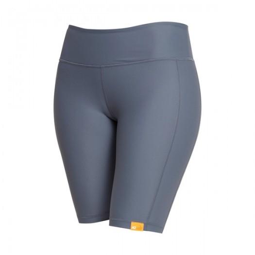 Шорты плавательные, женские Yoga iQ UV 300+ пепельный
