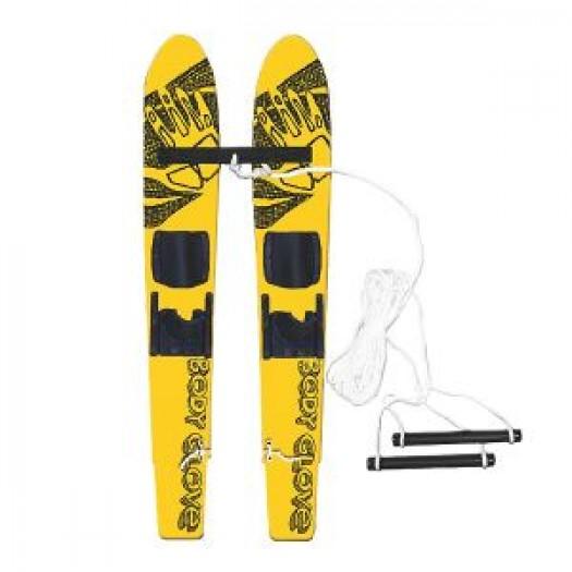 Детские парные лыжи  Grom 117 см до 60 кг