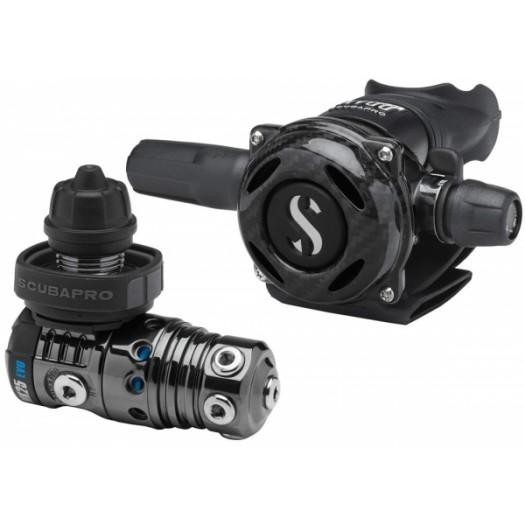 Регулятор Scubapro MK25 EVO DIN/A700 CARBON BLACK TECH