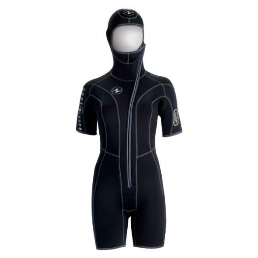 Куртка со шлемом Aqualung Diveflex женская 5,5 мм