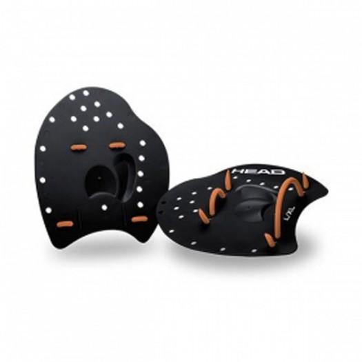 Лопатки для плавания HEAD, черные