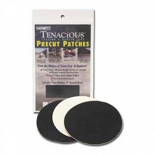 Набор самоклеющихся заплаток Tenacious (4 шт, прозрачн)