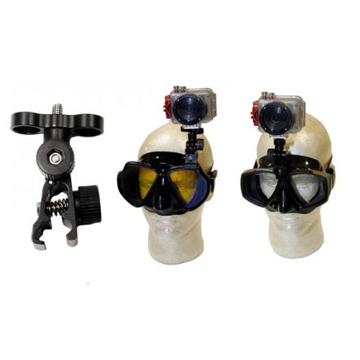 Крепление экстрим-камеры на маску INTOVA