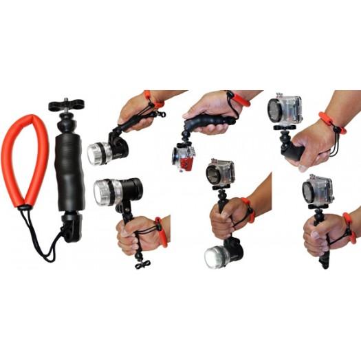 Ручка-фиксатор с петлей на руку для экстрим-камер INTOVA