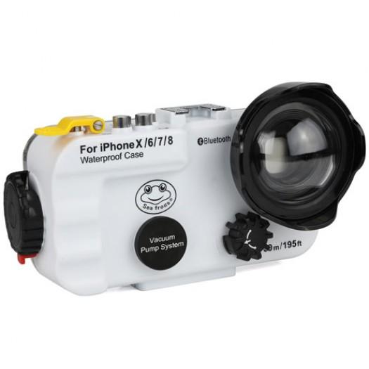 Подводный бокс Blutooth Meikon для Apple iPhone X/6/7/8