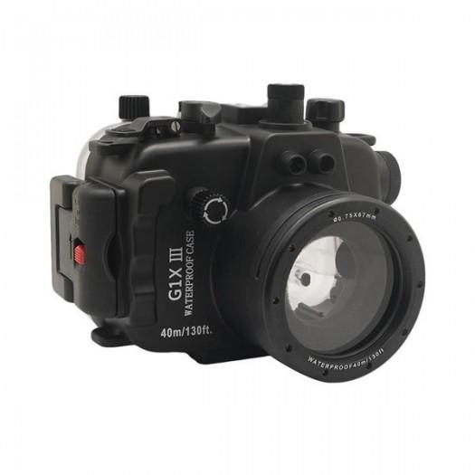 Подводный бокс Meikon для Canon Powershot G1x III