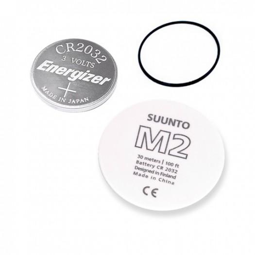 Комплект для замены батареи SUUNTO M2 WHITE