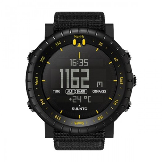 Suunto Core Black Yellow