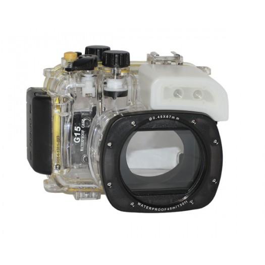 Подводный бокс Meikon для Canon Powershot G15