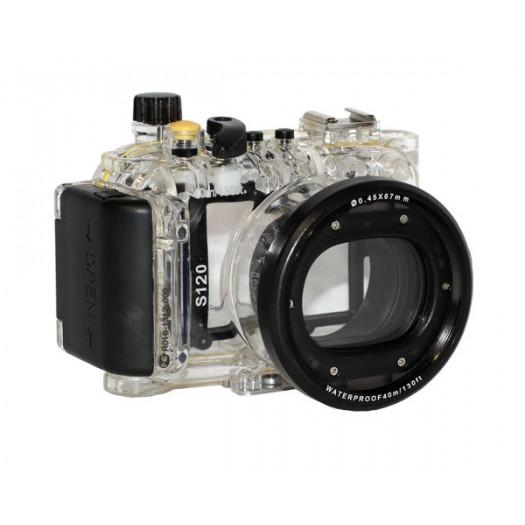 Подводный бокс Meikon для Canon Powershot S120