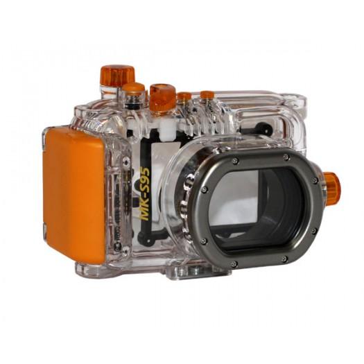 Подводный бокс Meikon для Canon Powershot S95
