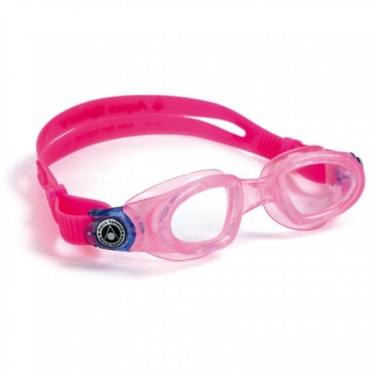 Детские очки для плавания Moby Kid с прозрачными линзами