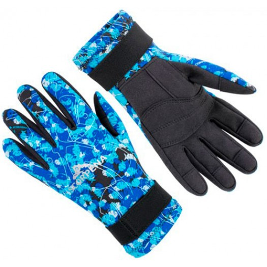 Перчатки Scorpena Blue Camo 2мм