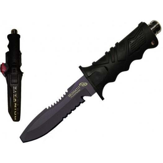 Нож OCEAN MASTER QT-500-SAW-BL