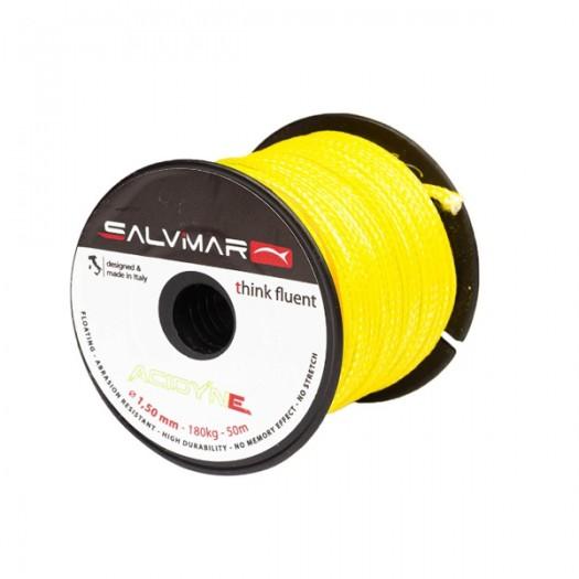Линь Salvimar ACTIVE DYNEEMA желтый ø 1,5 мм 190 кг