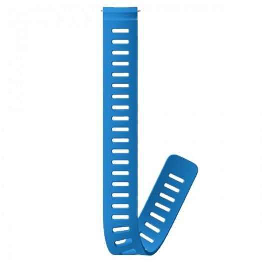 Удлинительный силиконовый ремешок Suunto Dive 1 - ширина 24 мм Blue