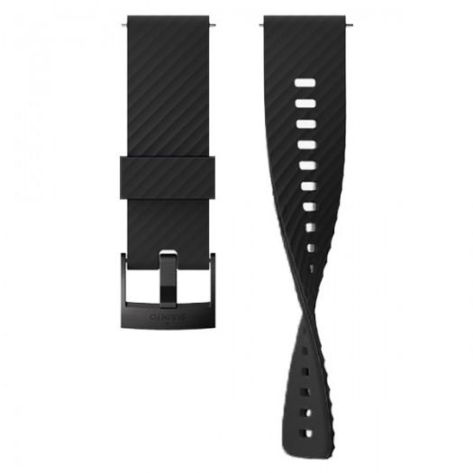Силиконовый ремешок Suunto Urban 3, ширина 24 мм All Black