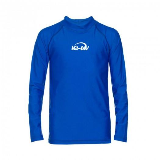 Футболка детская, длинный рукав iQ UV 300+, синий