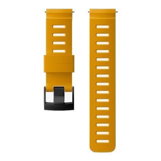 Силиконовый ремешок Suunto Dive 1 - ширина 24 мм Amber Black