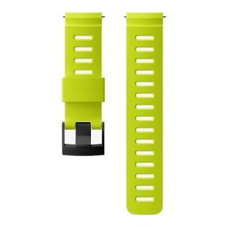 Силиконовый ремешок Suunto Dive 1 - ширина 24 мм Lime Black